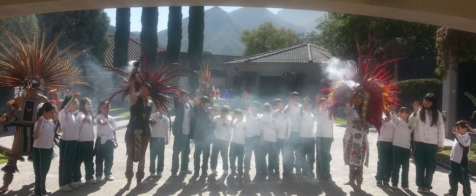 """""""México lindo y querido"""" alumnos de primaria del AIM"""